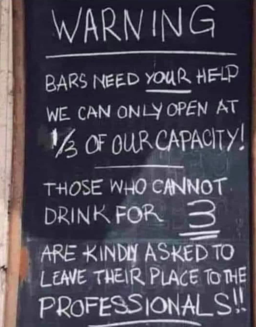 pub order new rules